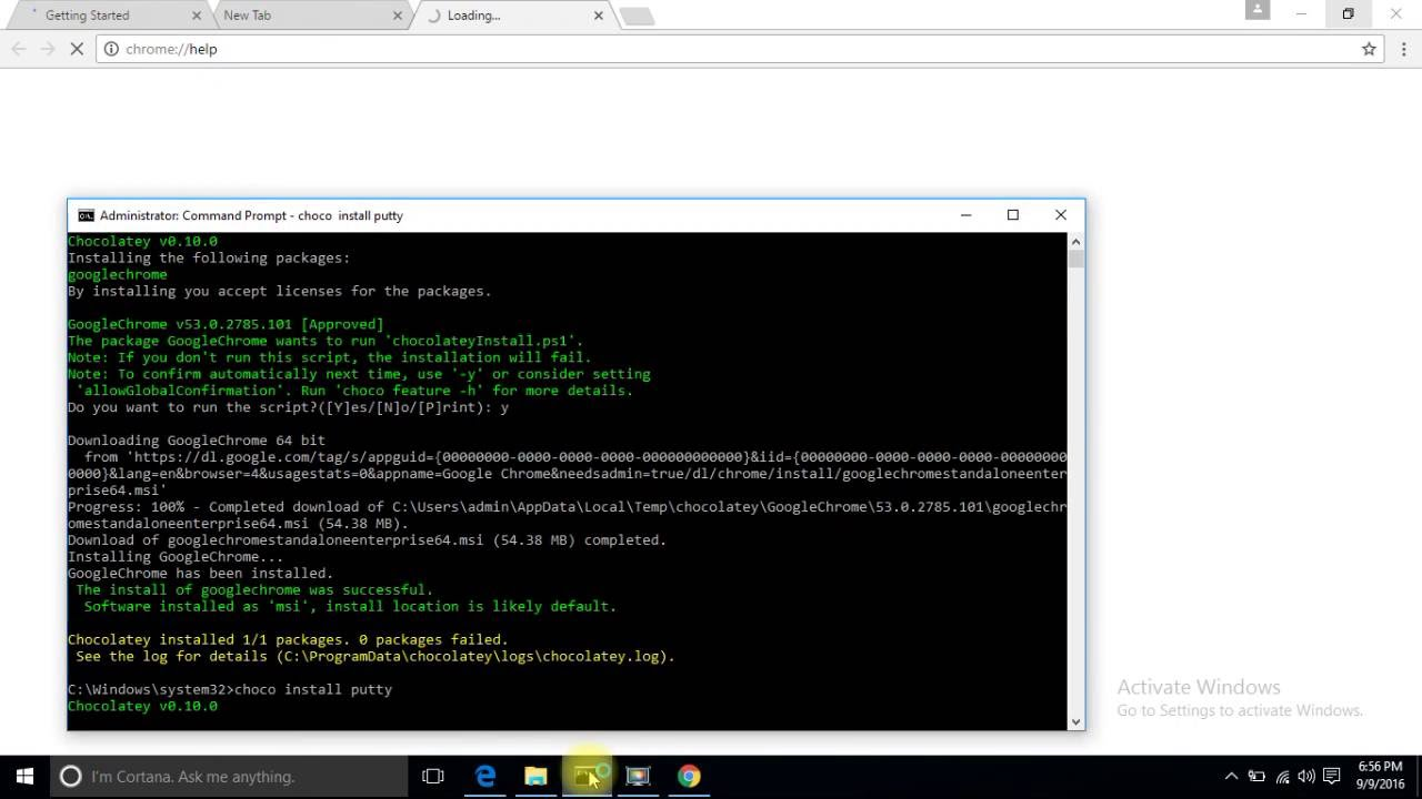 Windows 10 - Install, uninstall and manage software from command line by  Chocolatey