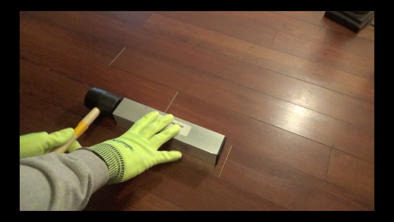 Laminate Flooring End Joint Gaps