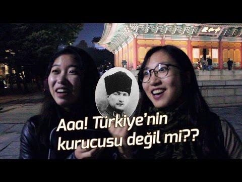 Korelilere Atatürk'ün resmini gösterdik, tanıyıp tanımadıklarını sorduk?
