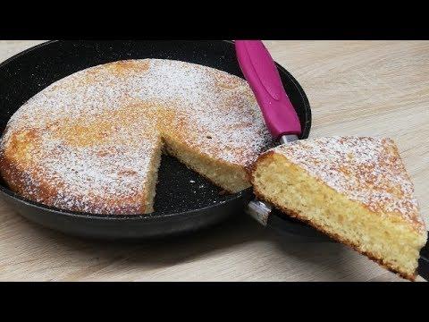 gÂteau-moelleux-au-yaourt-cuit-a-la-poÊle-trop-facile-(cuisine-rapide)-✔