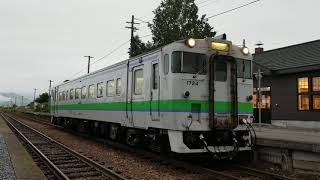 JR北海道キハ40-1724 宗谷線普通旭川行き 宗谷本線比布発車