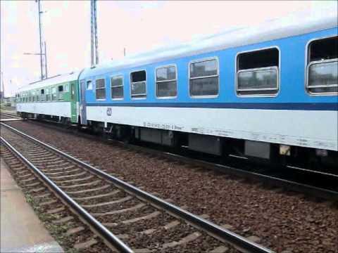 Sestřih vlaků po tratích v ČR