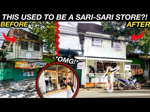 UNBELIEVABLE Filipino Sari-Sari Store TRANSFORMATION! (Never seen anything like this!)
