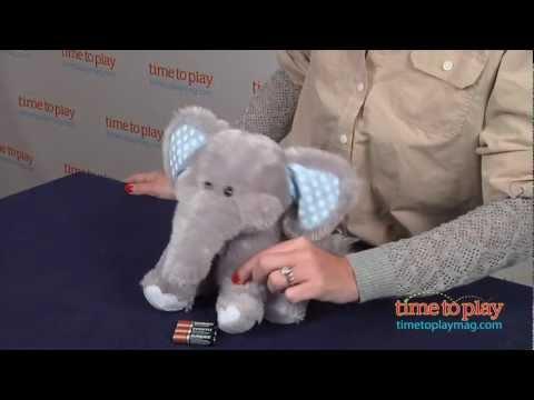 Elliot Elephant from Cuddle Barn
