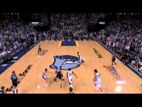 NBA Playoffs 2011: SA Spurs Vs Memphis Grizzlies Game 6 Highlights Upset By Grzz.
