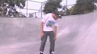 Skateboard Tricks: Backside 180 Kickflip Foot Position