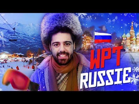 RUSSIE ! LE WORLD POKER TOUR CONTINUE
