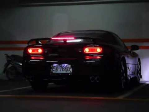 3000gt Led Tube Tail Light Youtube