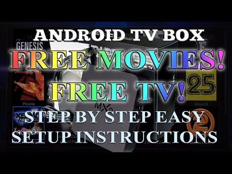 Android TV box - Easy step by step setup guide and review