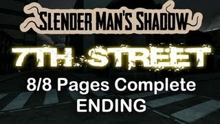 Slender 7th Street - 8/8 Pages Complete Ending (+ Short Montage)