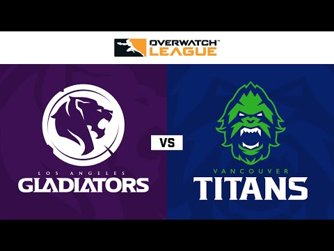 Vancouver Titans vs Los Angeles Gladiators vod