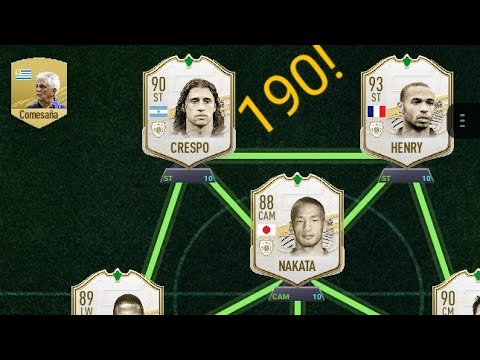 Download Trying to get a 190 or the highest rated FUT draft (insane amount of icons🤯🤯🤯🤯🤯🤯)