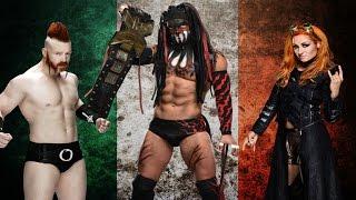 Tribute To Irish WWE Ass Kickers! - St. Patrick