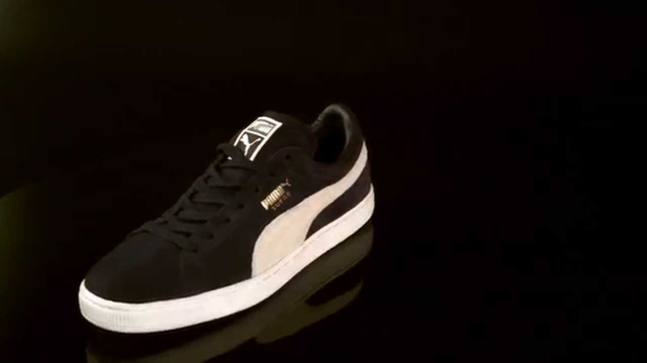 15084f6ee506 Puma Suede Classic Sneaker Peacoat White 356568 - YouTube