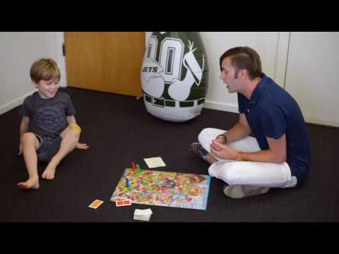 Play Therapy Session working on Feelings with Candy Land Game