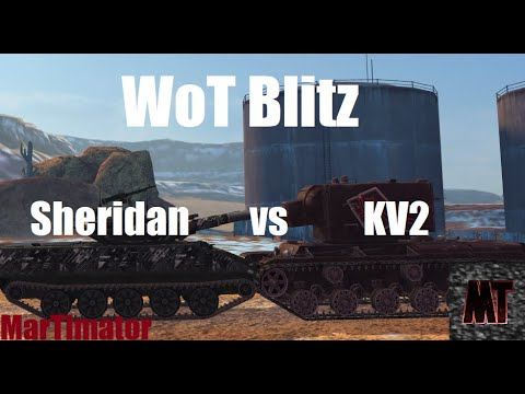 Sheridan Vs KV-2: Face The Derp #29 | WoT Blitz