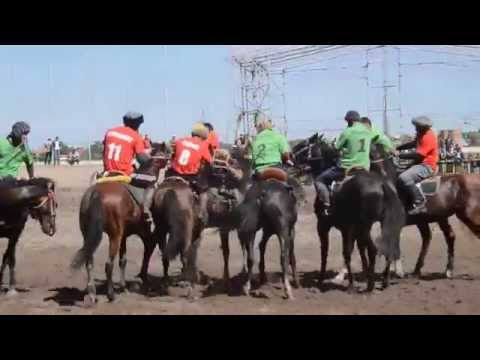 Kyrgyzstan's national sports Horseback Rugby 2