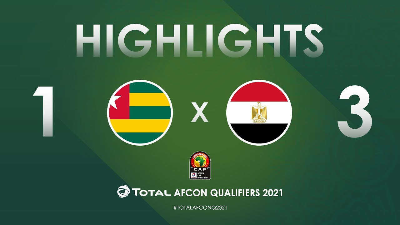 HIGHLIGHTS | Total AFCON Qualifiers 2021 | Round 4 - Group G: Togo 1-3 Egypt