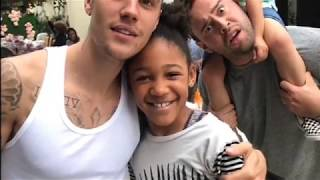 Justin bieber singing songs with scooter braun