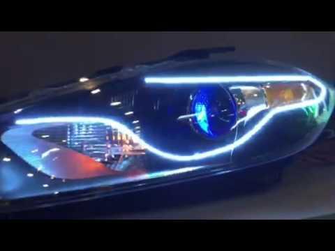 Dodge Dart New Style Headlight Halos From Oracle Lighting
