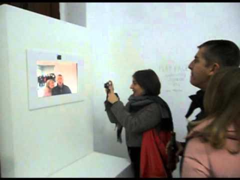 Jav Mayans - Augmented Mirror @ UAMO Festival '13 (Valencia, Spain)