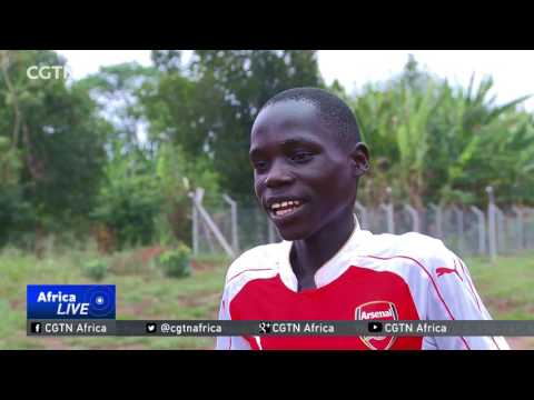 EPL football giants Arsenal seeks to nurture young talent in Eastern Uganda