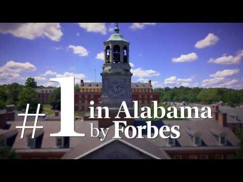 Forbes Ranks Samford #1 University in Alabama.