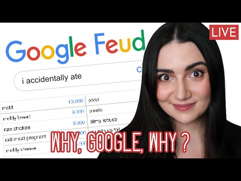 We Play Google Feud • Guessing What People Search On Google