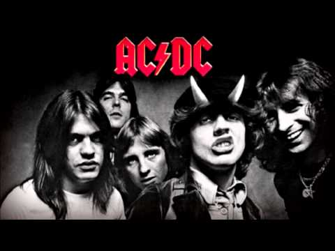 AC DC Bad boy boogie guitar BACKING TRACK