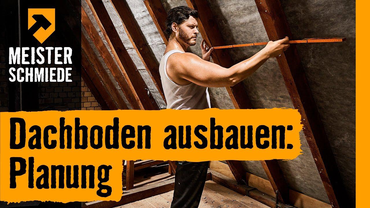 dachboden ausbauen: planung | hornbach meisterschmiede - youtube