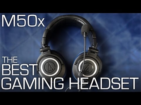 Audio Technica M50x + ModMic = BEST Gaming Headset!