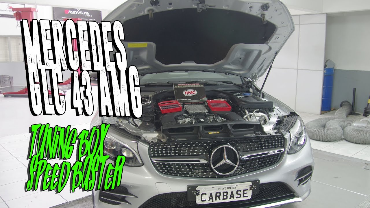 CARBASE - Mercedes GLC 43 AMG | Tuning Box Speed-Buster | Filtro de Ar BMC