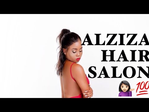 ISSA WIG | WELCOME TO ALZIZA HAIR | BEST VIRGIN HAIR SALON IN AFRICA 😍😍| ALZIZA HAIR TV