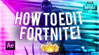 How To Edit Fortnite! (How To Make A Fortnite Montage/Edit #1)