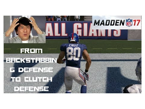 BACKSTABBING DEFENSE IN THE CUT! Madden 17 Draft Champions Gameplay LAST SALSA FOR CRUZ AS A GIANT!