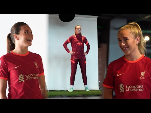 Behind the scenes at LFC women's media day