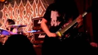 Morbid Angel- Where the Slime Live @ BB Kings, NYC, September 26, 2012