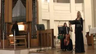 """J.S. Bach, Aria """"Gott hat alles wohlgemacht"""" BWV 35"""