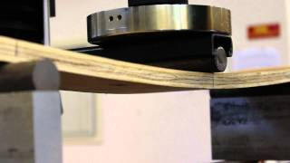Part I: Failure of plywood in flexure (simply supported)