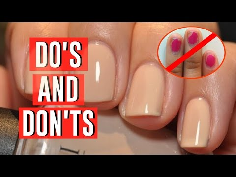 BASIC NAIL HACKS EVERY GIRL NEEDS TO KNOW!!
