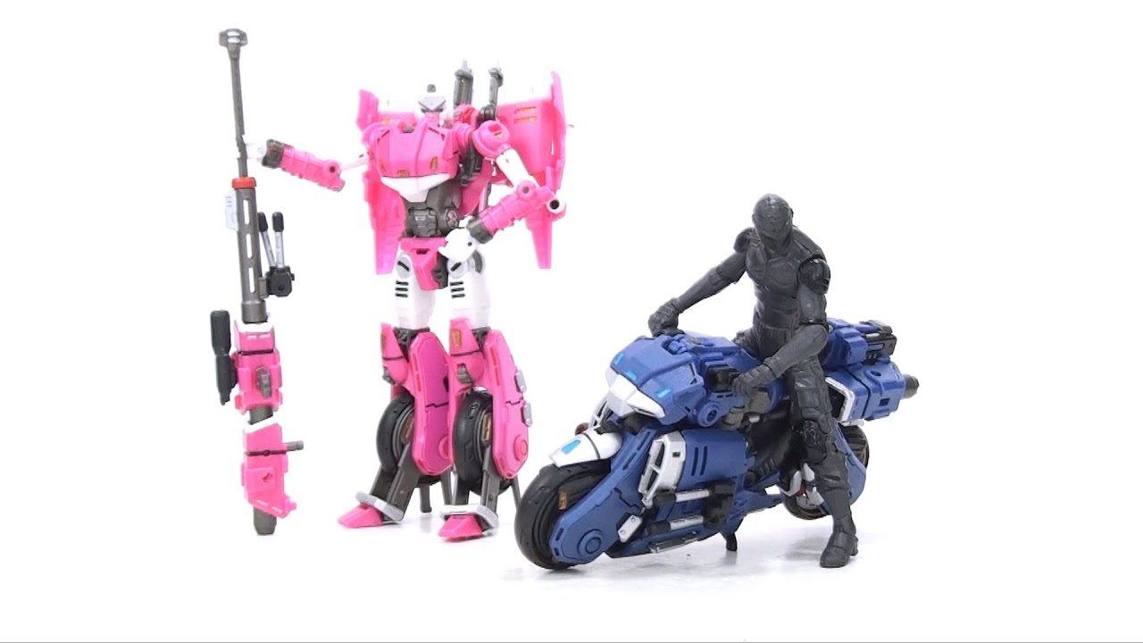 Transformers G1 Perfect Effect PE-DX01 RC Motorcycle Pink /& Blue Version NEW