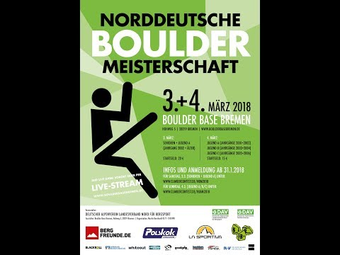 Norddeutsche Bouldermeisterschaft 2018 - Senioren - Halbfinale