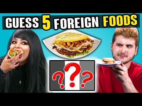 Adults Try To Guess 5 Foreign Foods   People Vs. Food