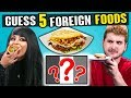 Adults Try To Guess 5 Foreign Foods | Pe