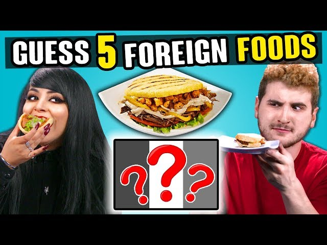 Adults Try To Guess 5 Foreign Foods | People Vs. Food