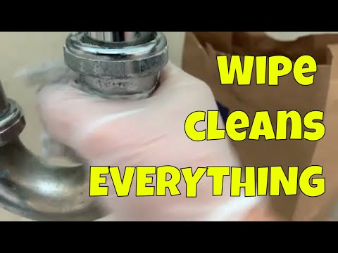 This Wet Wipe cleans EVERYTHING! (paint, rust, stains, hard water, stainless steel, toilets)