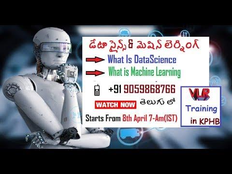 Data Science training Hyderabad -Data analytics vlr training