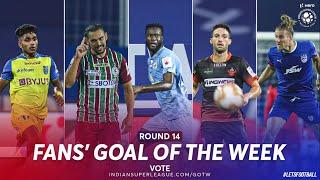 Fans' Goal of the Week - Nominees Round 14 | Hero ISL 2020-21