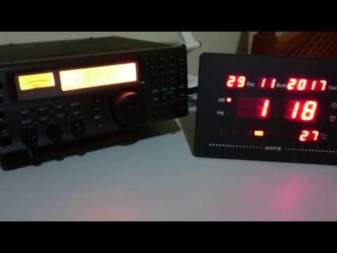 Bangkok Meteorological Radio - 8743 e 6765 kHz - Bangkok/Thailand