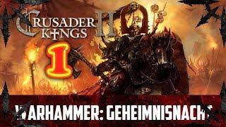 Crusader Kings 2 Warhammer Geheimnisnacht. Темный Крестовый поход #1. Пустоши Хаоса.